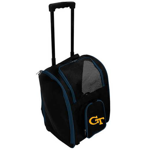 CLGTL902: NCAA Georgia Tech Yellow Jckts Pet Carrier Prembag W/wheels